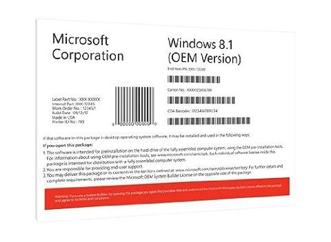 Windows 8.1 OEM 64 Bit Vollversion (Windows 7 Home Premium Kaufen 64 Bit)