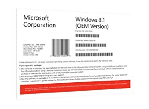 Windows 8.1 OEM 32 Bit Vollversion