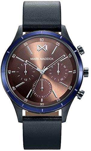 Mark Maddox hc7115 – 47 Watch Man Quartz Multifunction Steel Ip Gun Size 42 mm
