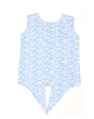 Pepe Jeans Girls' Floral Regular Fit Cotton Shirt (PIGJ0000725_Blue_6)  available at amazon for Rs.359