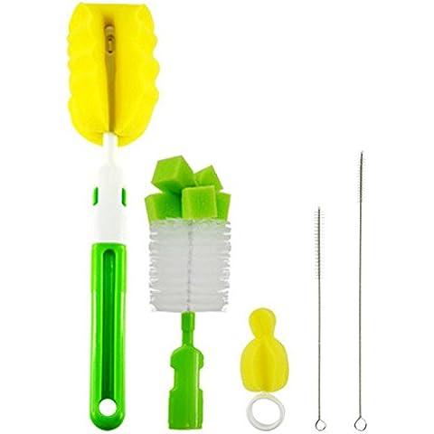 EQLEF® 1 Set Biberon pennello capezzoli di pulizia Brush Set
