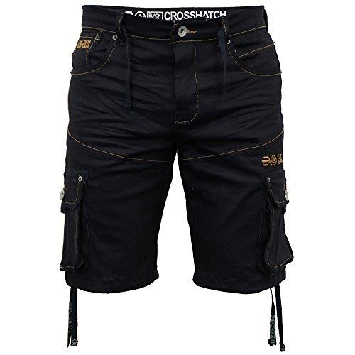 jeans-hommes-crosshatch-short-cargo-combat-jeans-delaveete-designer-decontracte-neuf-delave-recouver