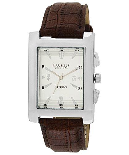 Laurels Imperial 2 Analog Silver Dial Men\'s Watch ( Lo-Imp-201)