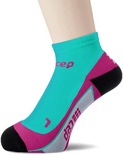 CEP Low Cut Socks Women lagoon/pink Schuhgröße III   38-40 2018 Laufsocken