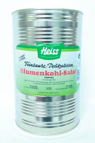 Heiss Blumenkohl 4250ml