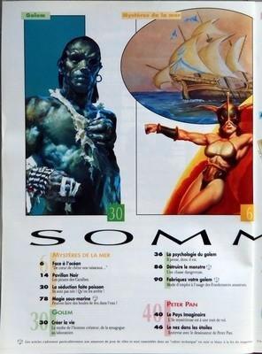 DRAGON MAGAZINE N? 23 du 01-04-1995 HEROIC FANTASY - SCIENCE FICTION - FANTASTIQUE - ENCYCLOPEDIE DES MONDES IMAGINAIRES SUR LES AILES DE LA TEMPETE - MAGIE SOUS-MARINE - CREER LA VIE - LA PSYCHOLOGIE DU GOLEM - DETRUIRE LE MONSTRE - PETER PA