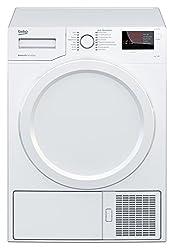 Beko DS 7333 PA0 Kondenstrockner / 7kg / weiß / Aquawave Schontrommel / 16 Programme / Automatischer Knitterschutz / Reversierende Trommelbewegungen