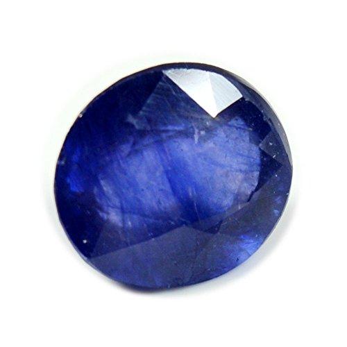 55Carat - Auténtico zafiro azul de 4,5quilates, diseño ovalado