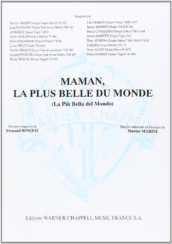 Mariano Luis Maman La Plus Belle Du Mond...