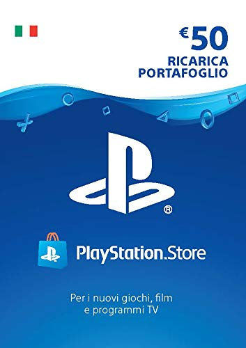 PlayStation Network PSN Card 50€ | Codice download per PSN - Account italiano