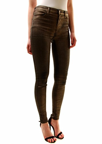 J Brand Femmess Mi-hauteur Maigre Jeans 620E419E Argent Bronze