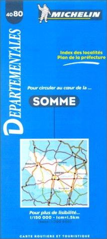 Carte routière : Somme, 4080, 1/150000
