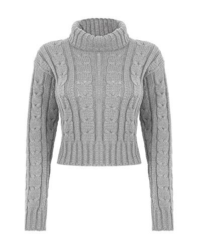 Generaton Fashion -  Maglione  - Donna Grey
