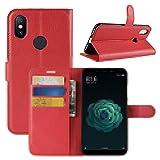 Lapinette Schutzhülle Wallet-Etui für xiaomi mi A2 (Mi 6X) rot