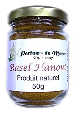Raselhanout: the original Moroccan spice mix, home made and 100% natural, for tagines and triangles