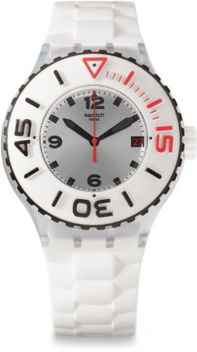 Swatch - Unisex Blanca Orologio