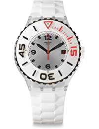 Swatch Quarzuhr Unisex Blanca  44 mm