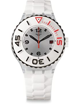 Swatch Quarzuhr Unisex Blanca  44 mm