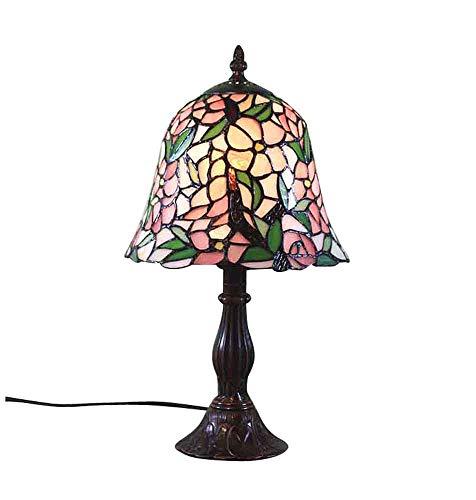 Graf von Gerlitzen Tiffany Stand Tisch Lampe Antik Style Tischlampe Tiffanylampe GN46-Anja (Antike Lampe Stand)