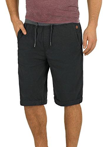 Jersey Drei-viertel-hosen (Blend Claude Herren Herren Chino Shorts Bermuda Kurze Hose Mit Kordel Aus 100% Baumwolle Regular Fit, Größe:L, Farbe:Phantom Grey (70010))