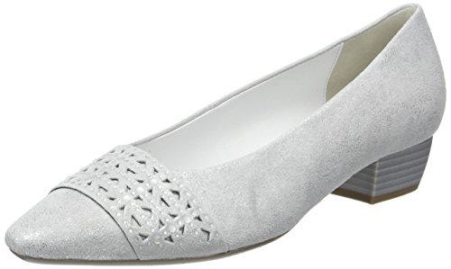 Gabor Shoes Damen Fashion Pumps, Weiß (Ice +Absatz 61), 42.5 EU