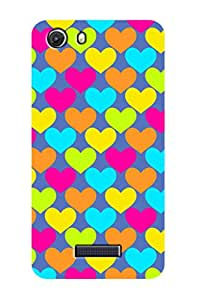 ZAPCASE Printed Back Case for MICROMAX UNITE 3
