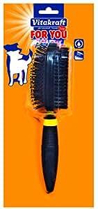 Vitakraft - 30774 - Brosse pour Chiens - Plastique Ovale