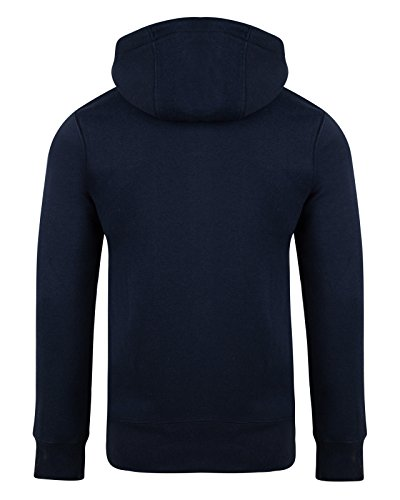 Smith and Jones -  Felpa con cappuccio  - Uomo Navy