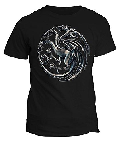 t-shirt khaleesi game of thrones simbolo sigillo scudo casata targarien daenerys targaryen by Fashwork