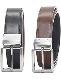 Amazon Essentials Men's Dress Reversible Belt