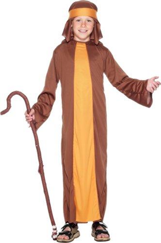 n Schäfer Kostüm, Robe und Kopfbedeckung, Größe: S, 23838 (Heiligen Kostüm Ideen Für Kinder)
