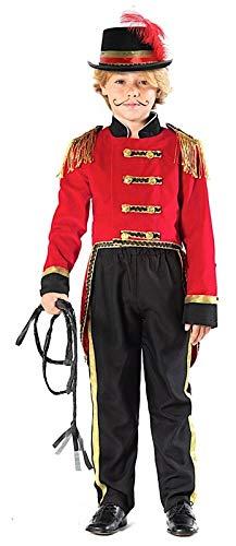 Fancy Me Jungen-Kostüm Ringmaster Showman Tailcoat Zirkus-Film, 3-10 Jahre