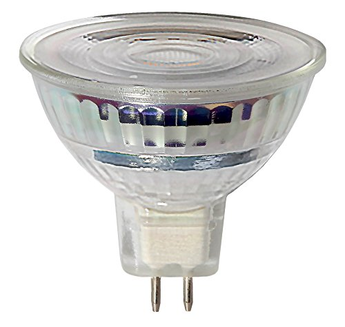 Star 346-06 Éclairage LED, Verre, GU5.3, 6.3 W, Transparent, 5.0 x 4.5 x 5.0 cm
