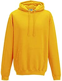Just Hoods - Unisex College Hoodie / Gold, M
