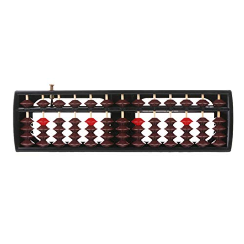 Suweqi Portable Plast Abacus Counting Frame Calculating Aid Slide Rule Abacus,Abacus Arithmetic Soroban School Math Learning Tool Educational Math Toys