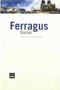 Ferragus par Honoré de Balzac