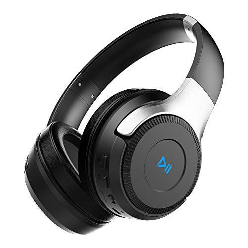 ZEALOT B26T Bluetooth Kopfhörer Over Ear BT 5.0+EDR Kabellose Kopfhörer mit Bass-Sound Stereo, Duale 40 mm Tieftontöner, [Bis zu 24 Std] Integriertem Mikrofon Freisprechfunktion, Micro SD/TF