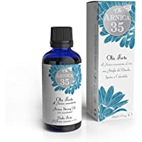 Dulàc - Olio Forte all'Arnica concentrata al 35% - 50 ml - Ideale per massaggi - 100% Naturale - 100% Made in Italy - Arnica 35
