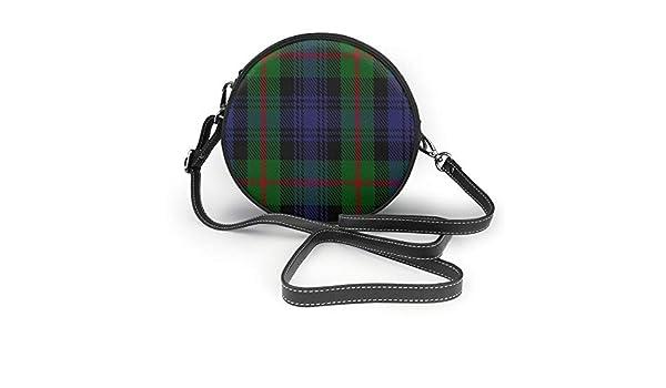 Wrution Murray 2 Clan Family Tartan personalizzato rotondo
