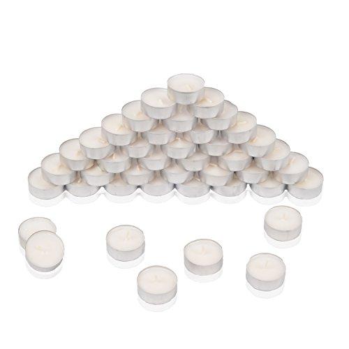 HSM 1200 Stück Teelichter Teelicht Kerzen Kerze Rechaudkerze 4 Std Brenndauer Weiß