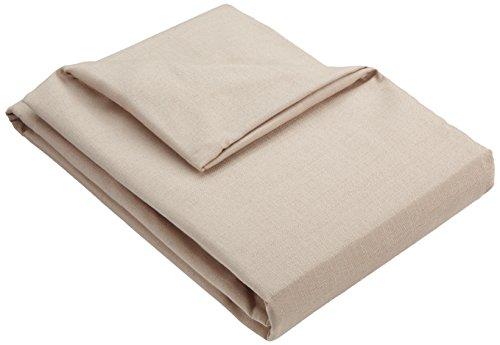 Zebra Textil 21462überwürf copridivano Beret, Ottomane Destra, Bianco
