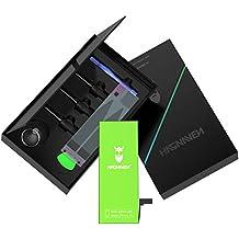 Hagnaven® Batterie Li-polymère compatible avec l'iPhone 6s   LA PLUS PERFORMANTE batterie de remplacement incluant des outils   PUISSANCE INCROYABLE DU GRAND NORD   1850mAh CELLULES DE HAUTE QUALITÉ