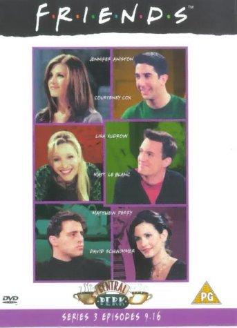 Click for larger image of Friends - Series 3 - Episodes 9-16 [DVD] [1995]