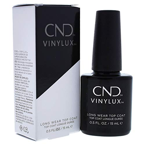 CND Vinylux Long Wear Top Coat, Smalto per Unghie - 15 ml
