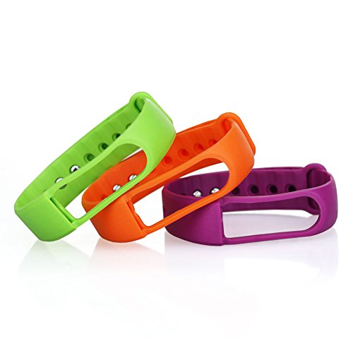 LETSCOM-TPE-Replacement-Straps-for-LETSCOM-Fitness-Tracker-ID101-ID101HR-3-Pack-GreenOragePurple