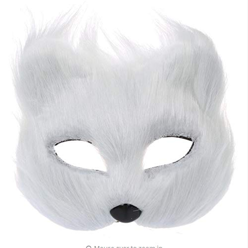 Shuangklei Fox Mask for Lady for Halloween Costume Prop,Party Etc.