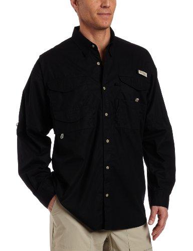 Columbia Herren Bonehead Langarm Angeln Shirt (schwarz, LT) (Bonehead Herren Shirt Angeln)