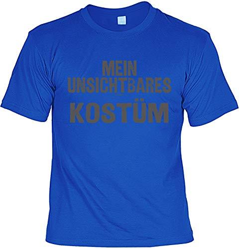 Sprüche/Karneval/Kostüm-Shirt Bekleidung/Freizeit für Faschingsmuffel: Mein unsichtbares Kostüm