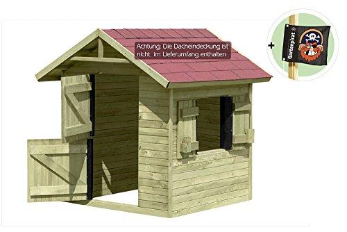 Spielhaus Emily aus Holz Gartenhaus für Kinder von Gartenpirat®