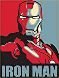 IRON MAN - US Imported Movie Wall Poster Print - 30CM X 43CM Brand New Marvel